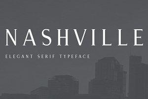 Nashville | Elegant Serif Typeface