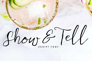 Show & Tell Font