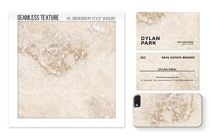 Seamless travertine marble texture