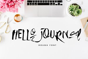 Hello Journal Font