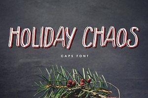 Holiday Chaos Font