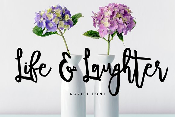 Life Laughter Font