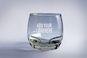 Drinking Glass Mock up