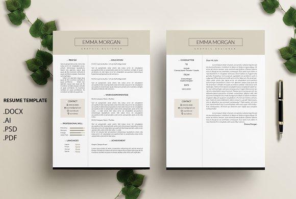 Latte CV Resume Template M