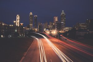 Night in Atlanta