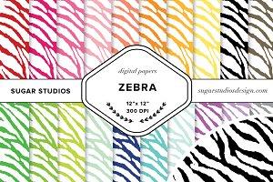 Zebra Digital Paper Mega Pack