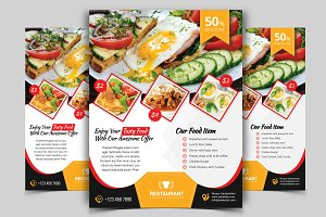 Restaurant Flyer. Vol-02