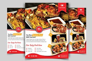 Restaurant Flyer. Vol-03