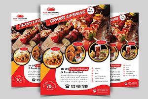 Restaurant Flyer. Vol-04