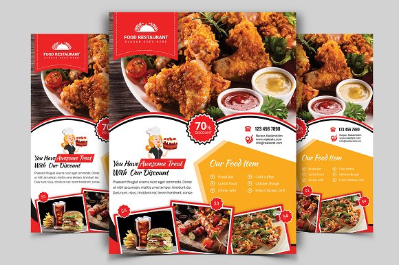 Restaurant Flyer Vol-05