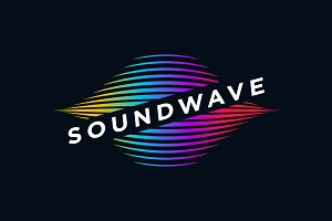 Sound Wave Media Business Symbol