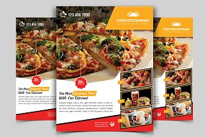 Restaurant Flyer. Vol-06