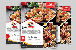 Restaurant Flyer. Vol-08
