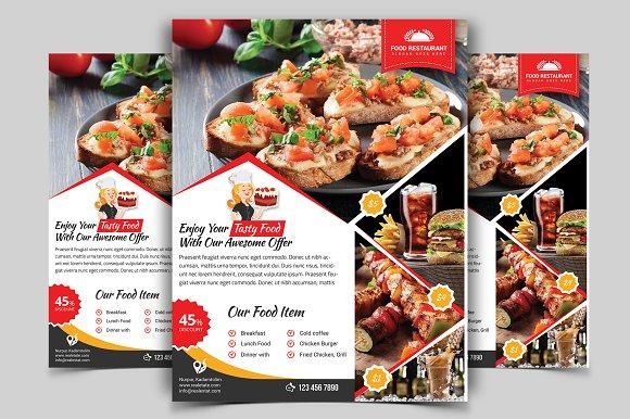 Restaurant Flyer Vol-08