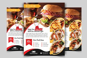 Restaurant Flyer. Vol-09