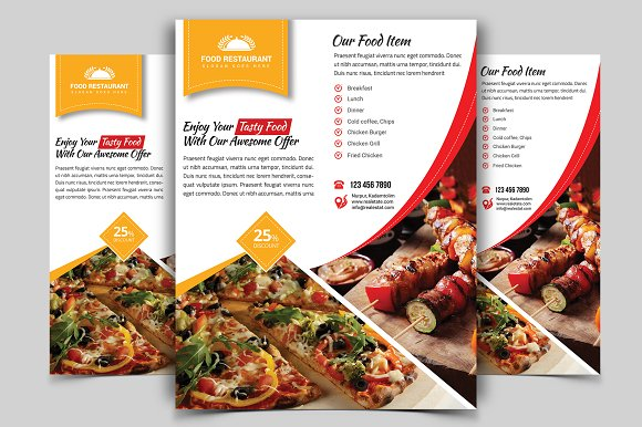Restaurant Flyer Vol-10