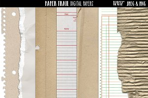 Basic Textures Digital Papers