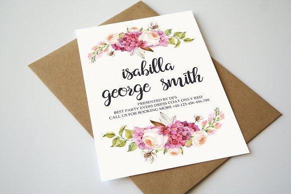 Modern Wedding Marriage Invitation