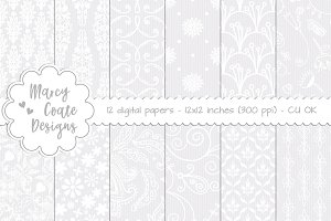 Lace Background Set 1