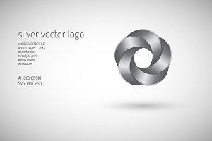 Silver VECTOR LOGO