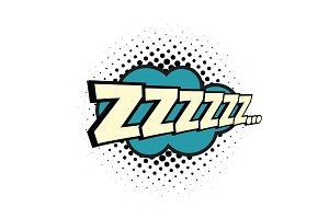 zzz comic word