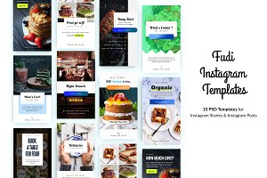 Fudi Instagram Templates