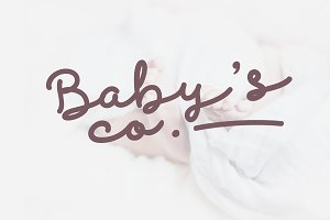 Discobaby Font