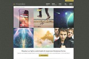 Mozaika Responsive WP Portfolio Tool