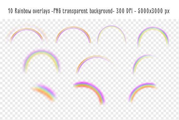 rainbow overlays textures textures creative market