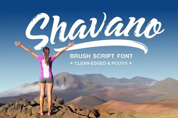 Shavano Brush Script Font