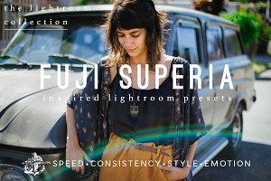 Fuji Superia Film Lightroom Presets