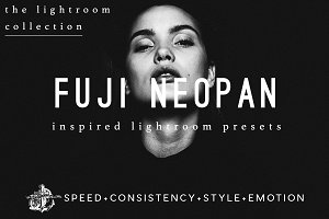 Fuji Neopan BW Filter for Lightroom