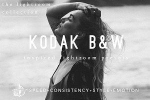 Kodak BW Film Lightroom Filter