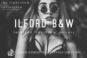 Ilford BW Film Lightroom Preset