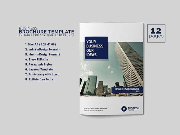 Business Brochure Template Brochure Templates Creative Market - Business brochures templates