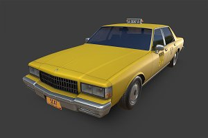 Chevrolet Caprice New York Taxi