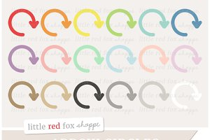 Arrow Circle Clipart