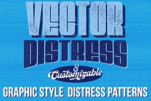 Vector Distress Graphic Styles
