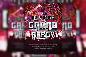Grand Party Flyer