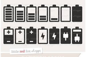 Phone Battery Icon Clipart