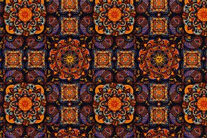 Esoteric seamless pattern