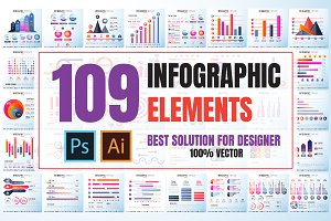 109 Infographics Design Template
