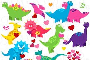 Valentine's Day Dinosaurs