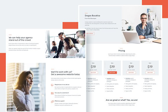 Maker Creative Agency Template