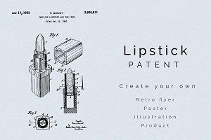 Lipstick Case Patent