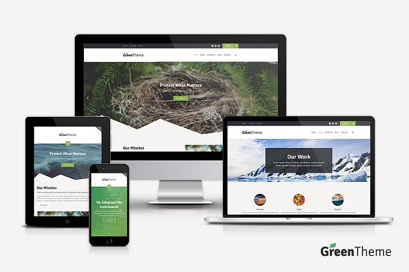 Green WordPress Theme
