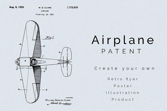 Airplane Patent