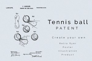Tennis Ball Patent