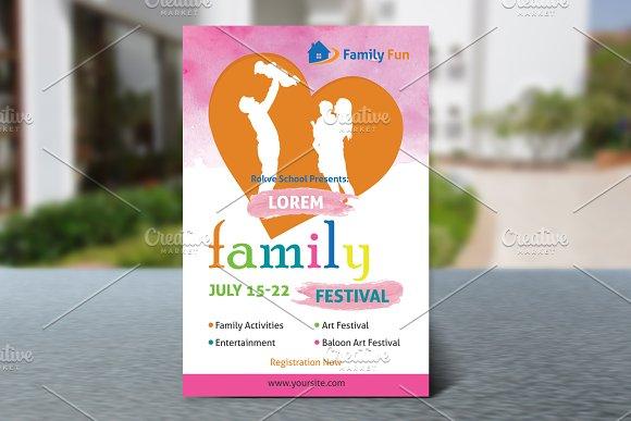 Family Festival Flyer V588