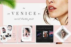 Venice: Elegant Social Media Designs